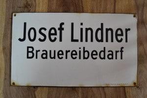 Historisches Firmenlogo von JOSEF LINDNER